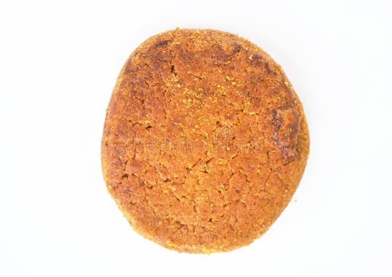 Biscuits d'isolement sur le fond blanc photo stock