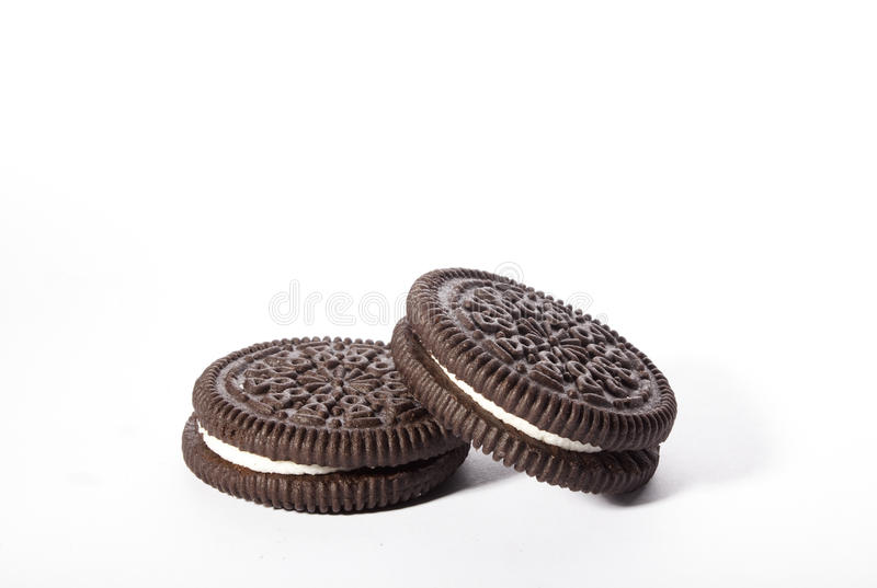 Biscuits d'Oreo photos stock