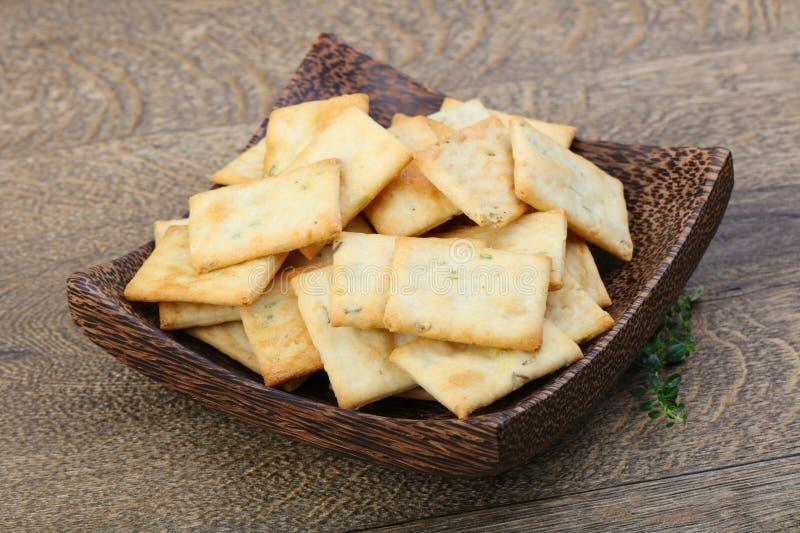 Biscuits dans la cuvette photographie stock libre de droits