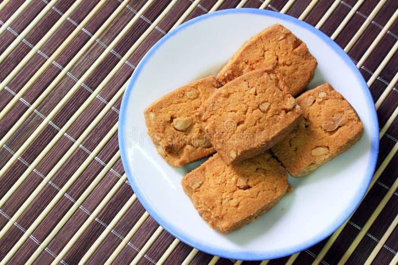 Biscuits de beurre photos stock