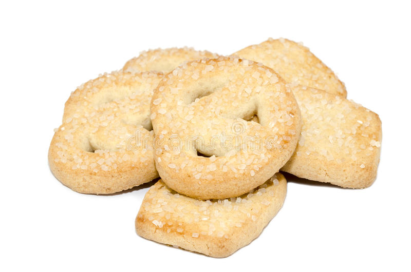 Biscuits de beurre photographie stock