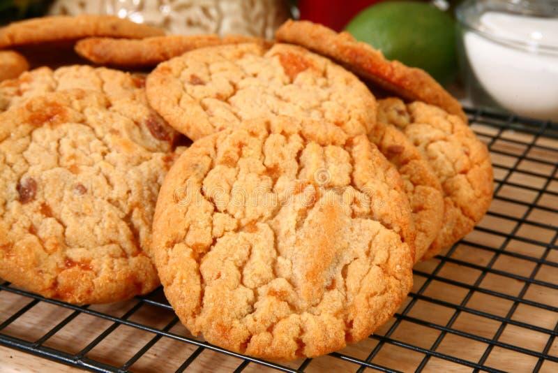 biscuits de beurre cassants de puce de sucrerie photo libre de droits