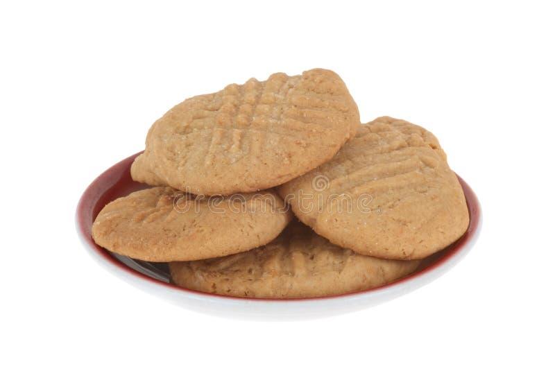 Biscuits de beurre d'arachide photos stock