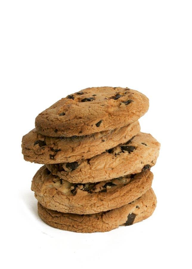 biscuits de chocolat de puce image stock