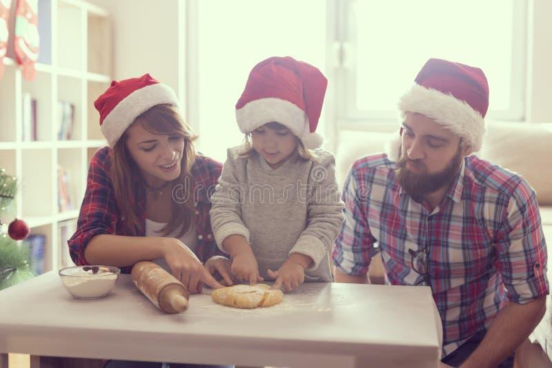 Biscuits de cuisson photos libres de droits