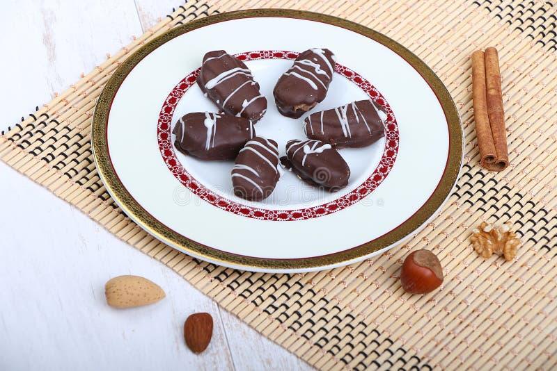 Biscuits de festin islamique d'EL Fitr photos stock
