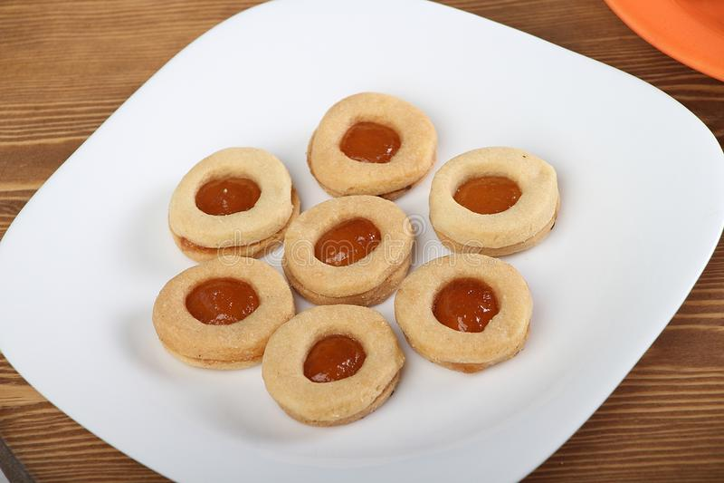 Biscuits de festin islamique d'EL Fitr photo stock