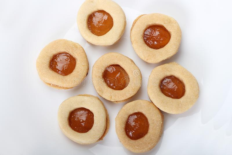 Biscuits de festin islamique d'EL Fitr photo libre de droits