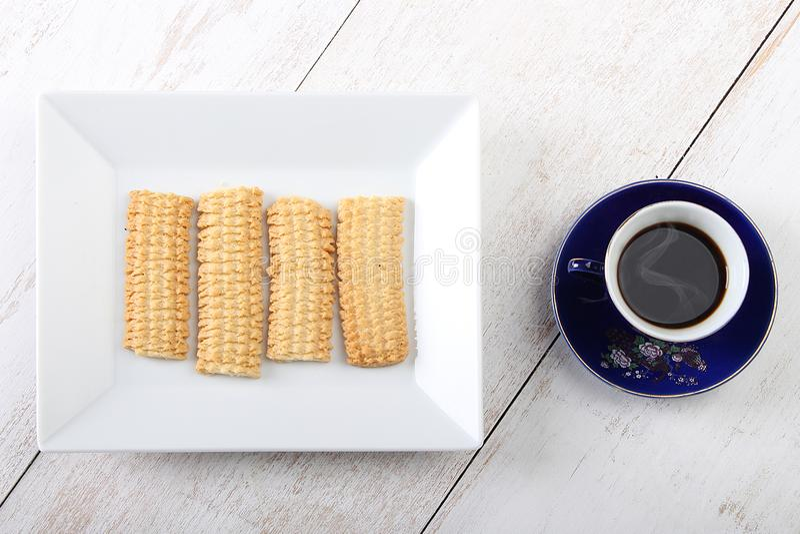 Biscuits de festin islamique d'EL Fitr image libre de droits