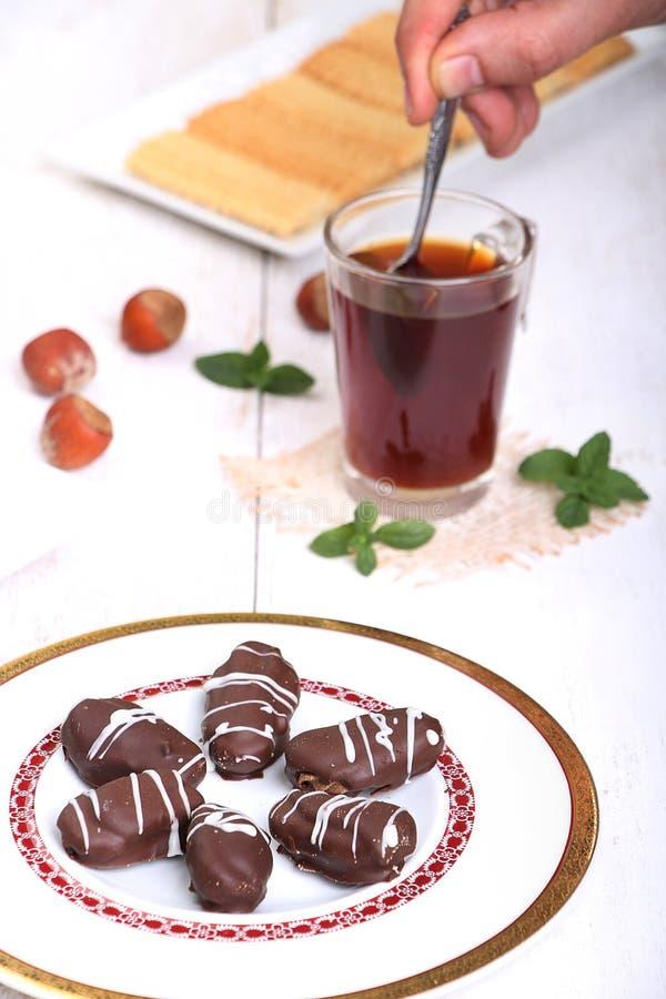 Biscuits de festin islamique d'EL Fitr photos libres de droits
