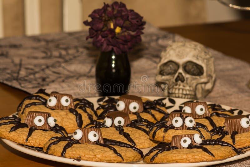 Biscuits de Halloween photos stock