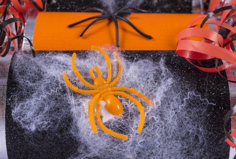 Biscuits de Holloween image stock