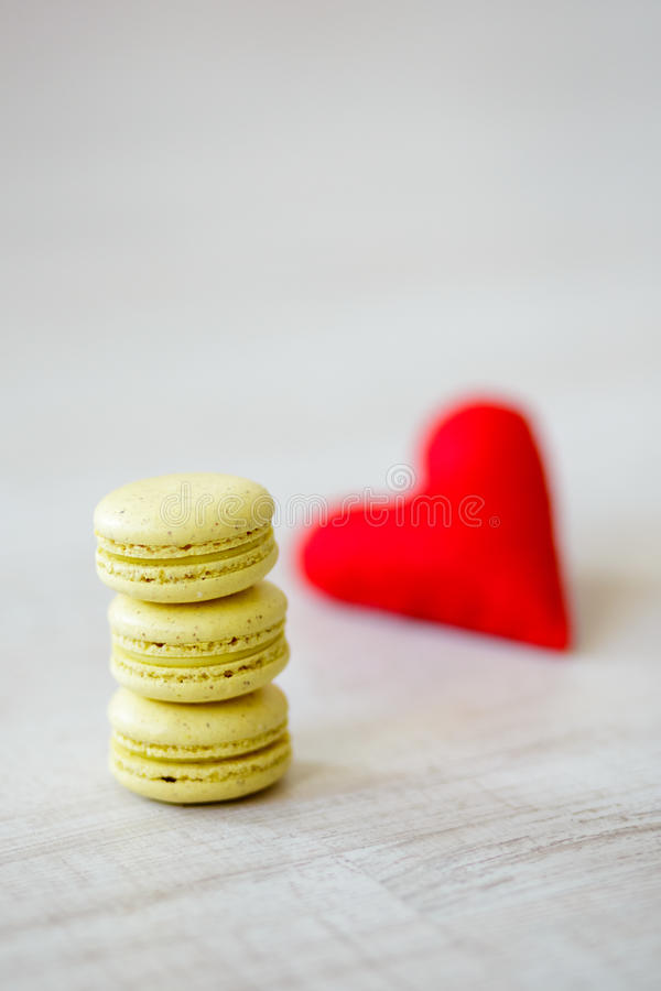 Biscuits de jour de Valentine s photos libres de droits