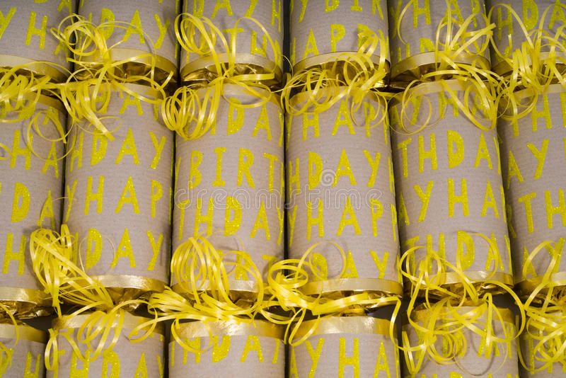 Biscuits de joyeux anniversaire photos libres de droits