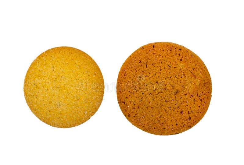 Biscuits de maïs d'isolement photos stock