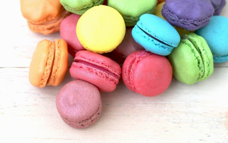 Biscuits de Macarrons photos stock