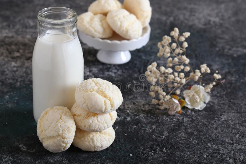 Biscuits de meringue image libre de droits