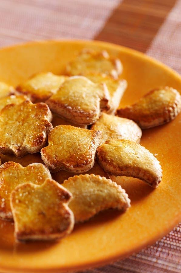 Biscuits de miel photo stock