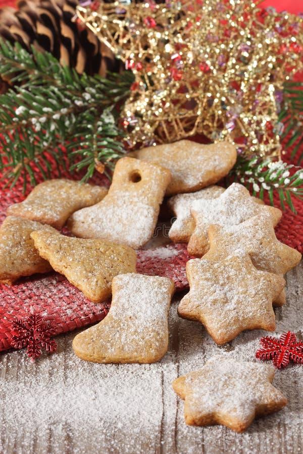 Biscuits de Noël. photographie stock