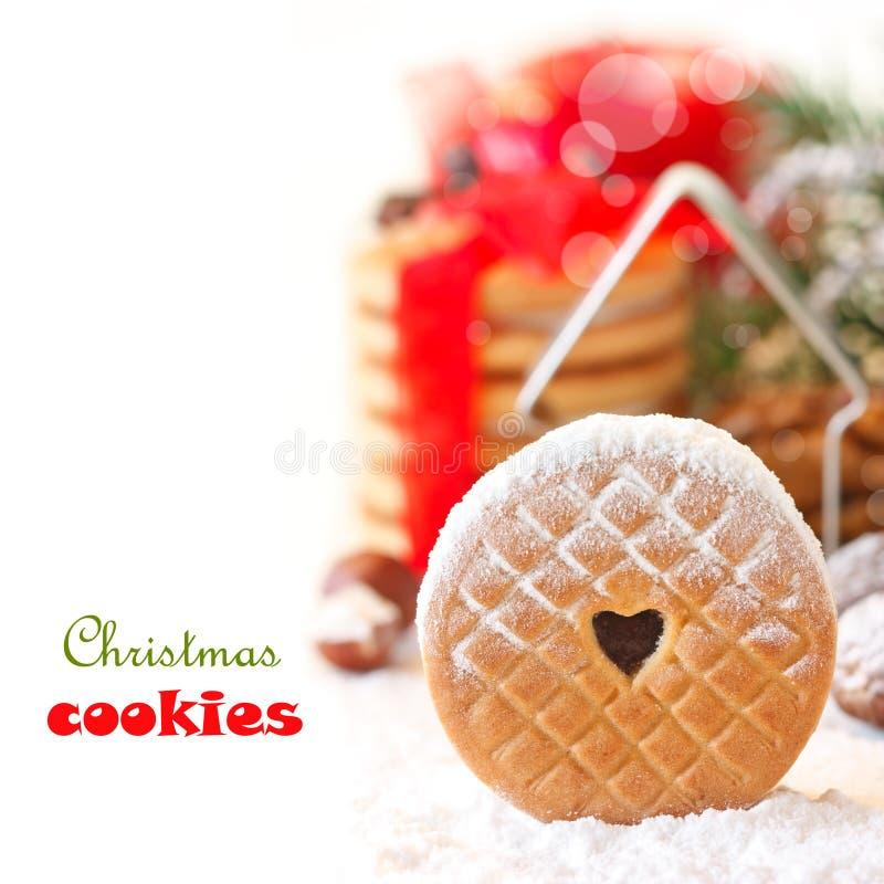 Biscuits de Noël. photo stock