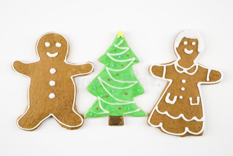 Biscuits de Noël. image stock