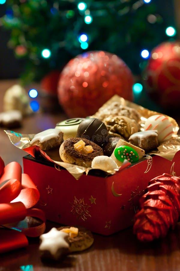 Biscuits de Noël. photo libre de droits
