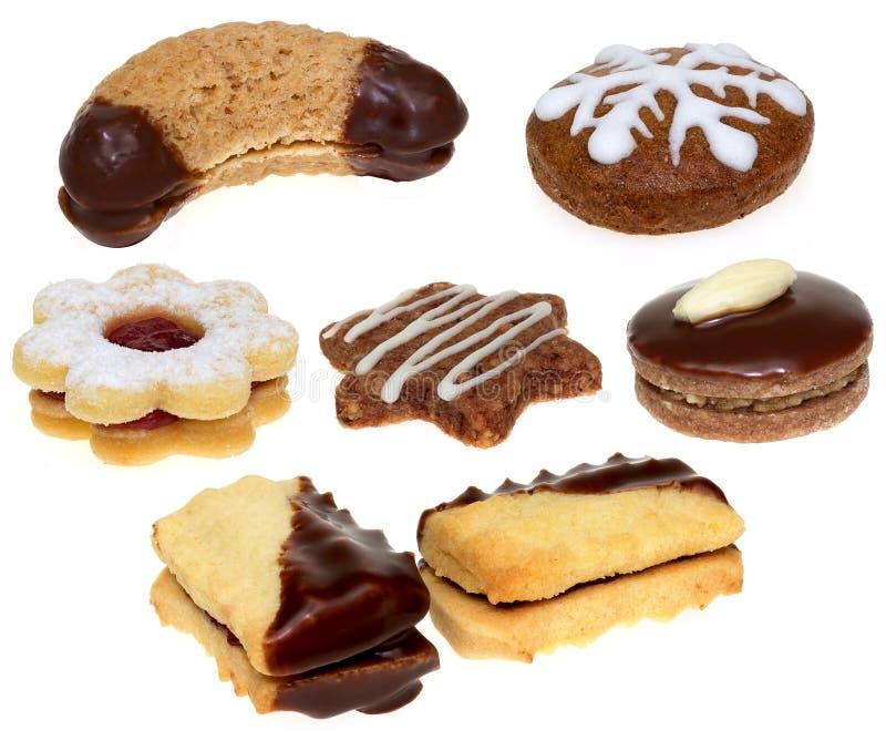 Biscuits de Noël traditionnels image libre de droits