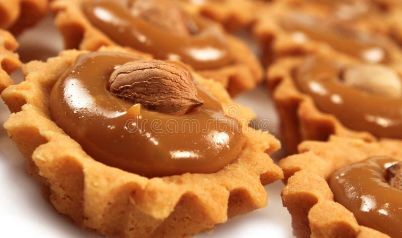 Biscuits de noisettes photo libre de droits