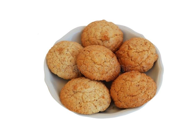 Biscuits de noix photographie stock