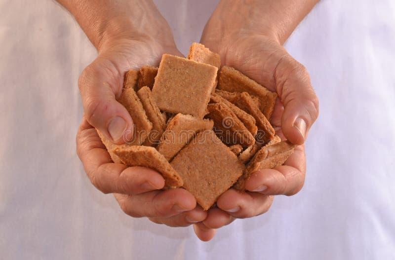 Biscuits de offre image libre de droits