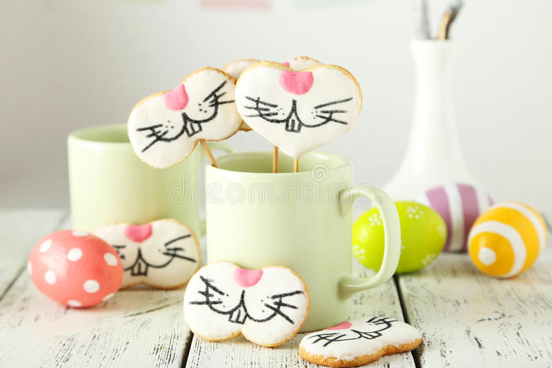 Biscuits de Pâques photo stock