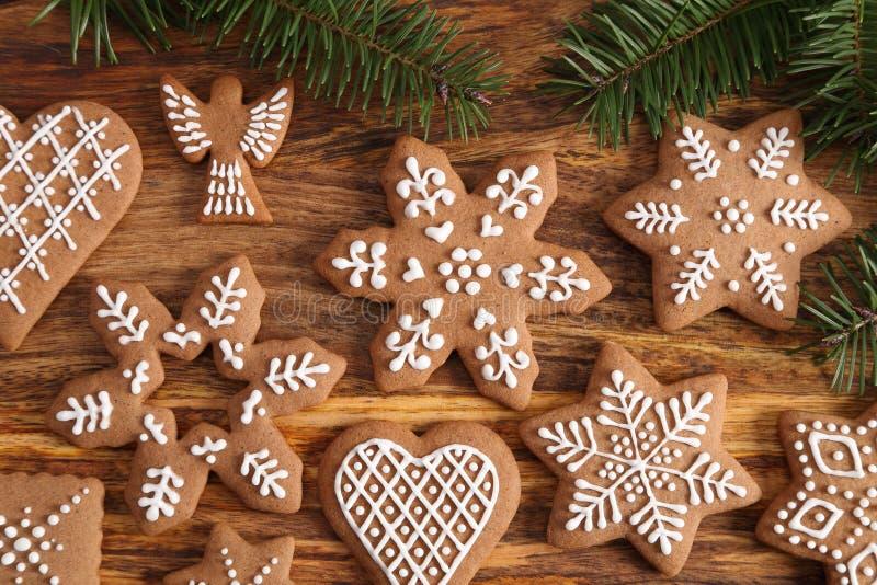 Biscuits de pain d'?pice photos libres de droits