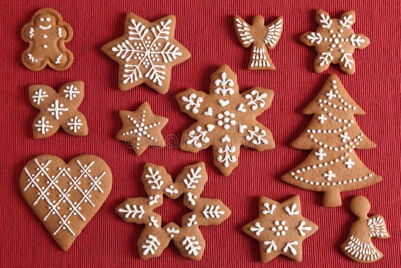 Biscuits de pain d'?pice images stock