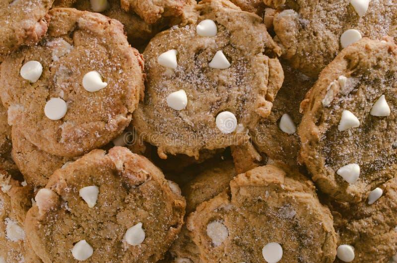 Biscuits de potiron photos stock