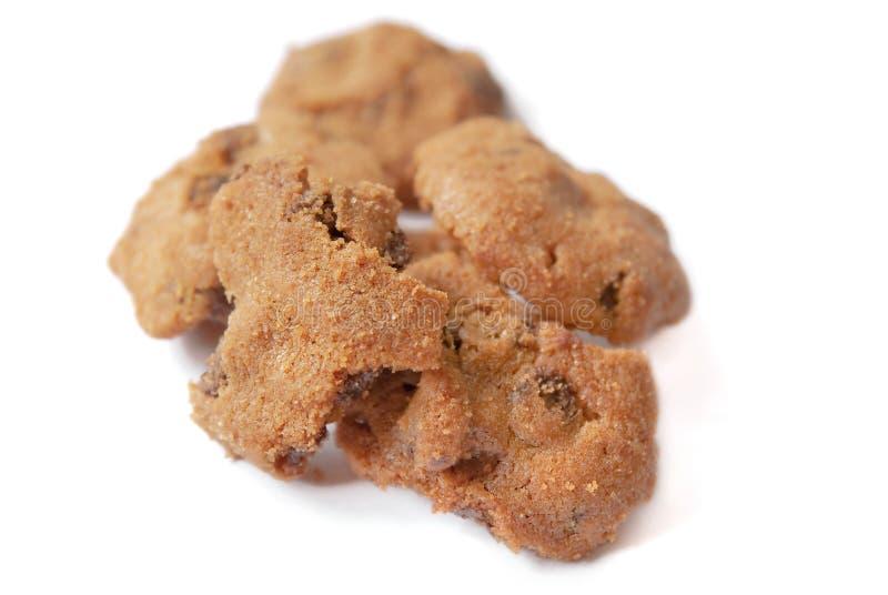 Biscuits de puces de chocolat 03 photos libres de droits