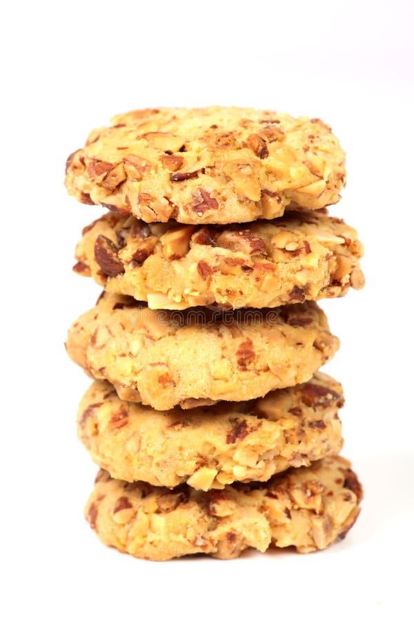 biscuits de Sec-fruit photo stock