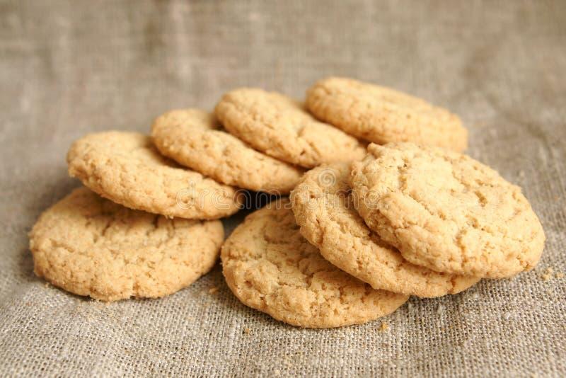 Biscuits de sucre photo stock