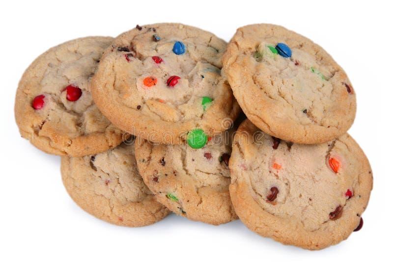 Biscuits de sucrerie images stock