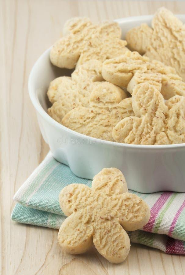 Biscuits de vanille photographie stock libre de droits