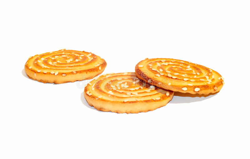 Biscuits doux image stock