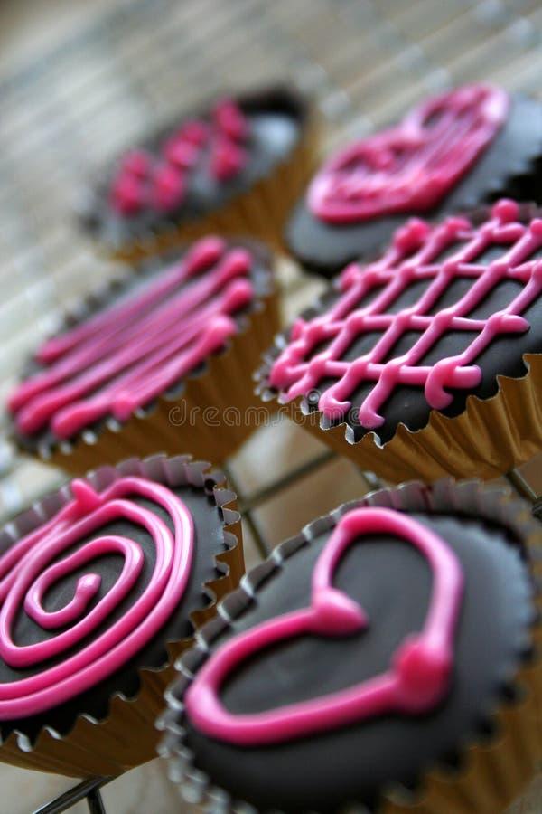 Download Biscuits Du Chocolat De Valentine Image stock - Image du croûte, praline: 4350209