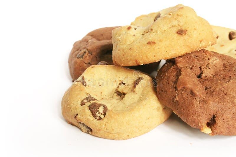 Biscuits et biscuits le festin sucré éventuel photos libres de droits