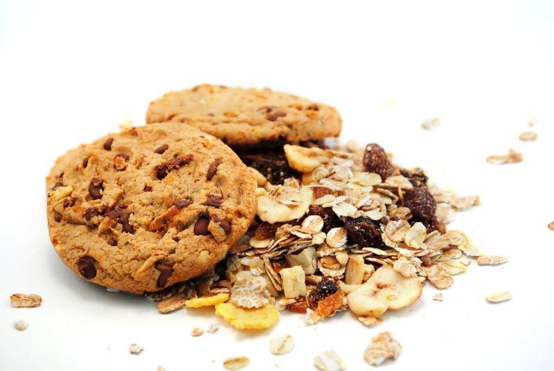 Biscuits et céréales images stock