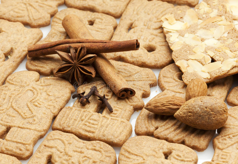 Speculaas Hollandais Traditionnels De Pâtisserie Image stock - Image du  hiver, biscuit: 21980483