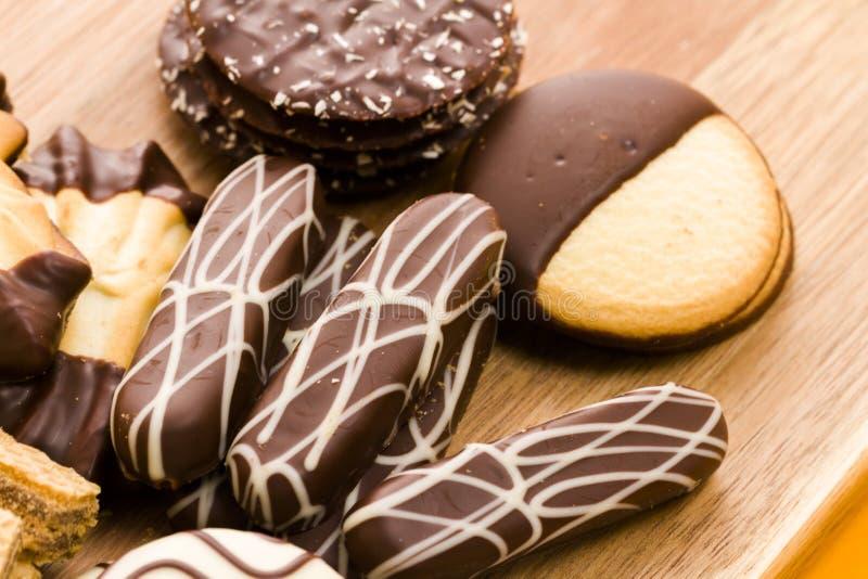 Biscuits européens images stock