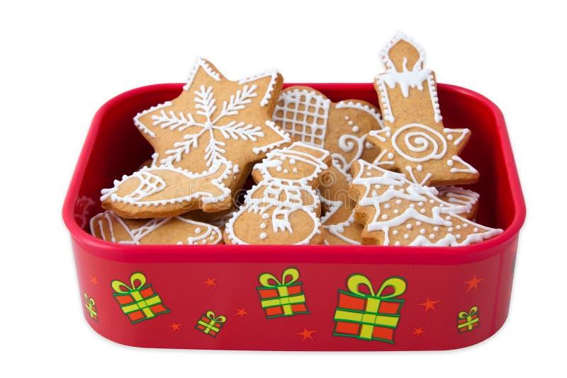 Gingembre fait maison de Noël images stock