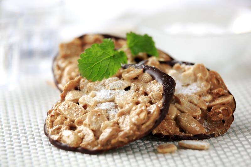 Biscuits florentins image stock