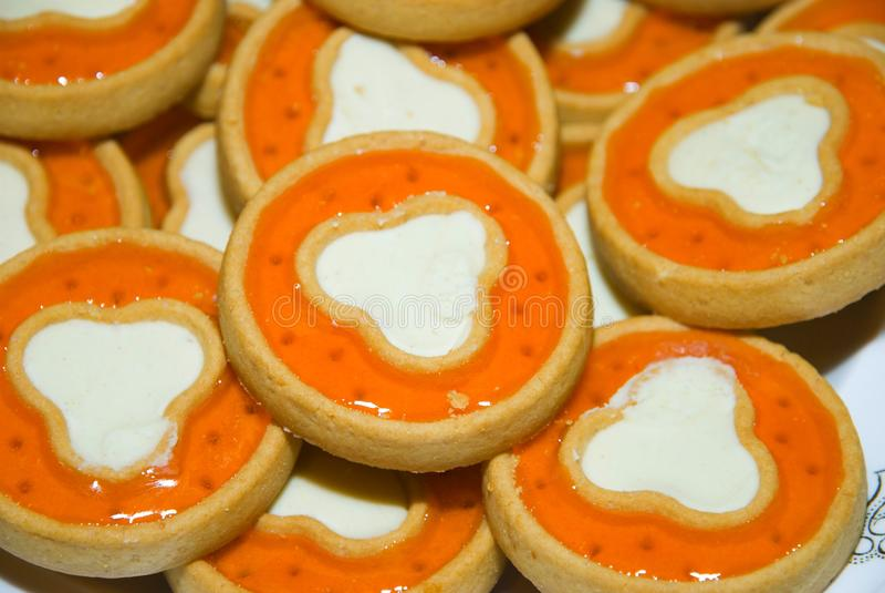 Biscuits. Fond. images libres de droits
