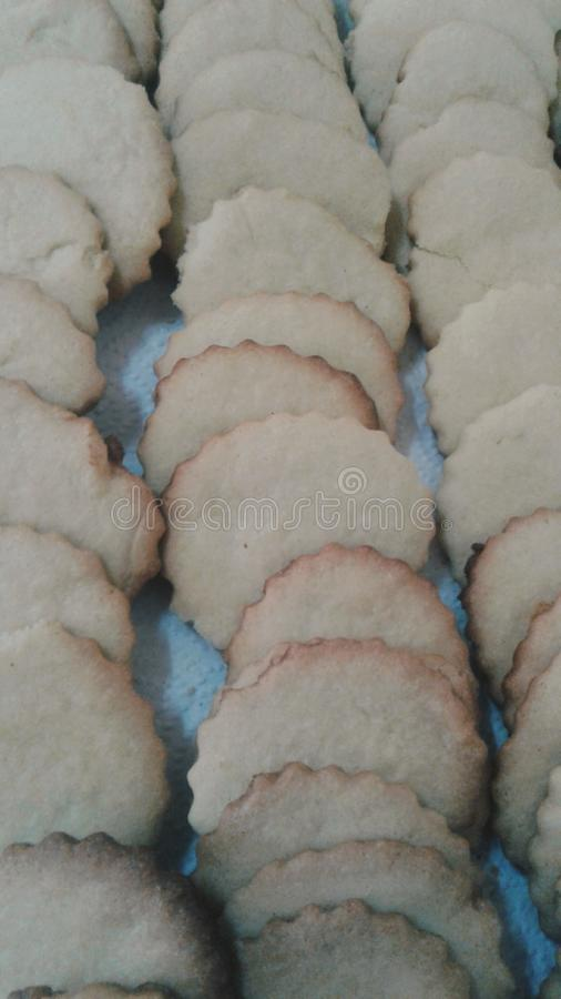 Biscuits frais photo stock