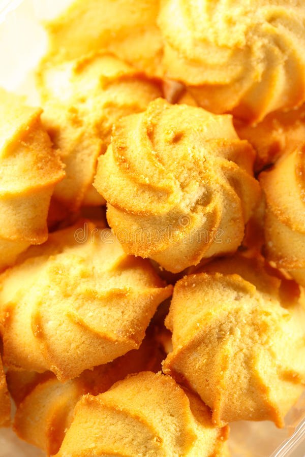 Biscuits frais image stock